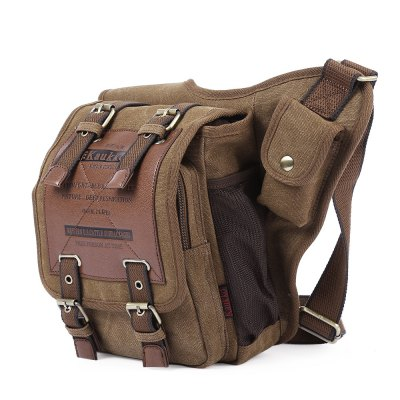 KAUKKO FH03 5L Male Sling BagSling Bag<br>KAUKKO FH03 5L Male Sling Bag<br><br>Bag Capacity: 5L<br>Brand: KAUKKO<br>Capacity: 1 - 10L<br>Color: Black,Khaki<br>For: Hiking, Casual, Cycling, Travel, Mountaineering<br>Material: Canvas<br>Package Contents: 1 x KAUKKO FH03 5L Male Single-shoulder Bag<br>Package size (L x W x H): 36.00 x 30.00 x 3.00 cm / 14.17 x 11.81 x 1.18 inches<br>Package weight: 0.6550 kg<br>Product size (L x W x H): 35.00 x 21.00 x 9.00 cm / 13.78 x 8.27 x 3.54 inches<br>Product weight: 0.6150 kg