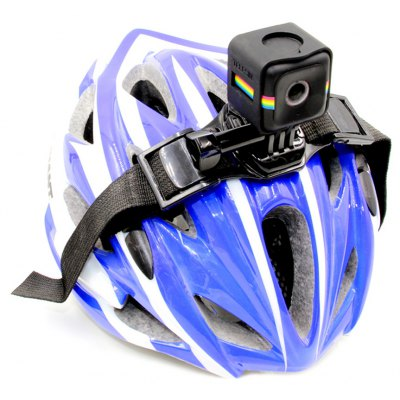 TELESIN Helmet Band with Frame Housing for Polaroid Cube / Cube+