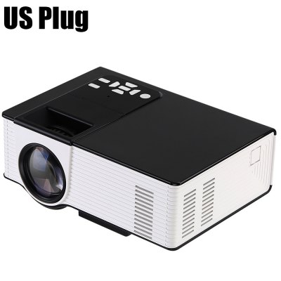 VS314 LED ProjectorProjectors<br>VS314 LED Projector<br><br>3D: No<br>Aspect ratio: 16:9 / 4:3<br>Audio Formats: MP3 / WMAASF / OGG / AAC / WAV<br>Bluetooth: Unsupport<br>Brightness: 1500 Lumens<br>Built-in Speaker: No<br>Certificate: CE,FCC<br>Color: Black,White<br>Compatible with: Xbox<br>Contrast Ratio: 2000:1<br>Display type: LCD<br>DVB-T Supported: No<br>External Subtitle Supported: No<br>Features: 1080P<br>Image Scale: 16:9,4:3<br>Image Size: 27 - 150 inch<br>Interface: USB, TF Card Slot, HDMI, AV, 3.5mm Audio<br>Lamp: LED<br>Lamp Life: 30,000 hours<br>Model: VS314<br>Native Resolution: 800 x 480<br>Noise (dB): No<br>Package Contents: 1 x VS314 LED Projector, 1 x Video Cable, 1 x Remote Control, 1 x Power Adapter, 1 x English Instruction Manual<br>Package size (L x W x H): 29.80 x 18.50 x 12.50 cm / 11.73 x 7.28 x 4.92 inches<br>Package weight: 1.2970 kg<br>Picture Formats: JPE / GIF / PNG / TIF / BMP<br>Power Supply: 5V<br>Product size (L x W x H): 20.00 x 15.00 x 9.00 cm / 7.87 x 5.91 x 3.54 inches<br>Product weight: 0.8900 kg<br>Projection Distance: 0.9 - 6M<br>Throw Ration: No<br>Tripod Height: No<br>Video Formats: 3GP / AVI / MOV / MKV / FLV / MP4 / MPG / VOB / RMVB
