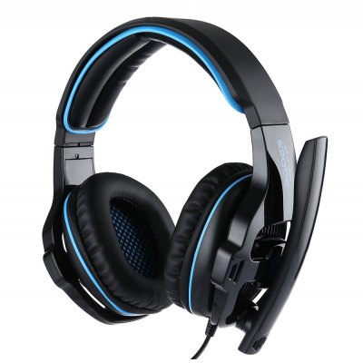 SADES SA - 810 Stereo Gaming HeadsetGaming Headphones<br>SADES SA - 810 Stereo Gaming Headset<br><br>Application: Computer<br>Brand: Sades<br>Cable Length (m): 2.2m<br>Compatible with: Computer<br>Connectivity: Wired<br>Driver unit: 40mm<br>Frequency response: 20-20000Hz<br>Function: Voice control, Microphone<br>Impedance: 32ohms<br>Input Power: 30mW (max)<br>Micphone Sensitivity: -52db±2db<br>Microphone dimension: 6.0 x 5.0mm<br>Model: SA - 810<br>Package Contents: 1 x Sades SA - 810 Gaming Headsets<br>Package size (L x W x H): 24.00 x 10.50 x 25.50 cm / 9.45 x 4.13 x 10.04 inches<br>Package weight: 0.637 kg<br>Plug Type: 3.5mm<br>Product size (L x W x H): 18.00 x 8.50 x 20.00 cm / 7.09 x 3.35 x 7.87 inches<br>Product weight: 0.381 kg<br>Sensitivity: 111 dB ± 3dB<br>Wearing type: Headband