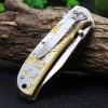 BAODANLI XY - 01 Liner Lock Folding Knife with Clip deal