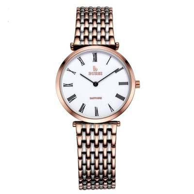 BUREI Retro Men Quartz Watch with Sapphire MirrorMens Watches<br>BUREI Retro Men Quartz Watch with Sapphire Mirror<br><br>Watches categories: Male table<br>Watch style: Retro<br>Watch color: White + Gold, White + Rose Gold, Silver, Gold<br>Movement type: Quartz watch<br>Watch mirror: Sapphire<br>Shape of the dial: Round<br>Display type: Analog<br>Case material: Stainless Steel<br>Band material: Stainless Steel<br>Clasp type: Hidden clasp<br>Water resistance : 100 meters<br>Dial size: 3.4 x 3.4 x 0.62 cm / 1.34 x 1.34 x 0.24 inches<br>Band size: 21.8 x 1.7 cm / 8.58 x 0.67 inches<br>Product weight: 0.075 kg<br>Package weight: 0.135 kg<br>Product size (L x W x H): 21.80 x 3.40 x 0.62 cm / 8.58 x 1.34 x 0.24 inches<br>Package size (L x W x H): 28.00 x 8.00 x 3.50 cm / 11.02 x 3.15 x 1.38 inches<br>Package Contents: 1 x BUREI Retro Men Quartz Watch