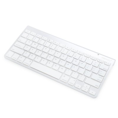 Maikou BK - 3003 - W Wireless Bluetooth 3.0 KeyboardKeyboards<br>Maikou BK - 3003 - W Wireless Bluetooth 3.0 Keyboard<br><br>Brand: Maikou<br>Model: BK - 3003 - W<br>Type: Keyboard<br>Material: Aluminum Alloy<br>Color: Silver<br>Interface: Wireless<br>Bluetooth Specification: 3.0<br>Power Supply: 2 x AAA Battery<br>Product weight: 0.319 kg<br>Package weight: 0.399 kg<br>Product size (L x W x H): 28.50 x 13.00 x 0.50 cm / 11.22 x 5.12 x 0.2 inches<br>Package size (L x W x H): 29.50 x 14.00 x 2.50 cm / 11.61 x 5.51 x 0.98 inches<br>Package Contents: 1 x Maikou BK - 3003 - W Wireless Keyboard