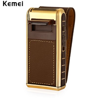 KEMEI 5500 Small Rechargeable Reciprocating Electric Shaver