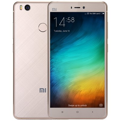 XiaoMi Mi4S 4G SmartphoneCell phones<br>XiaoMi Mi4S 4G Smartphone<br><br>2G: GSM 850/900/1800/1900MHz<br>3G: WCDMA 850/900/1900/2100MHz<br>4G: FDD-LTE 1800/2100/2600MHz<br>Additional Features: Calculator, Fingerprint Unlocking, Alarm, Fingerprint recognition, E-book, Calendar, Bluetooth, GPS, Wi-Fi, 4G, 3G, MP3, MP4, Sound Recorder, Video Call, Browser<br>Aperture: f/2.0<br>Auto Focus: Yes<br>Back camera: 13.0MP<br>Battery Capacity (mAh): 3260mAh<br>Battery Type: Non-removable, Lithium-ion Polymer Battery<br>Brand: Xiaomi<br>Camera Functions: Face Detection, Face Beauty<br>Camera type: Dual cameras (one front one back)<br>Cell Phone: 1<br>Cores: Hexa Core<br>CPU: Qualcomm Snapdragon 808 64bit<br>E-book format: TXT, PDF<br>External Memory: TF card up to 128GB (not included)<br>Flashlight: Yes<br>Front camera: 5.0MP<br>GPU: Adreno 418<br>I/O Interface: TF/Micro SD Card Slot, 3.5mm Audio Out Port, Type-C<br>Language: Afrikaans, Azerbaidzhan, Bahasa Indonesia, Bahasa Melayu, Catalan, Czech, Danish, German, Estonian, English, Spanish, Euskara, Filipino, French, Galego, Croatian, Isizulu, Icelandic, Italian, Swahili,<br>MS Office format: PPT, Excel, Word<br>Music format: MP3, WAV, AAC, AMR<br>Network type: FDD-LTE+WCDMA+GSM<br>Notification LED: Yes<br>OS: MIUI 8<br>Package size: 18.00 x 12.00 x 6.00 cm / 7.09 x 4.72 x 2.36 inches<br>Package weight: 0.5000 kg<br>Picture format: PNG, GIF, JPEG, BMP<br>Pixels Per Inch (PPI): 441<br>Power Adapter: 1<br>Product size: 13.93 x 7.08 x 0.78 cm / 5.48 x 2.79 x 0.31 inches<br>Product weight: 0.1330 kg<br>RAM: 3GB RAM<br>ROM: 64GB<br>Screen resolution: 1920 x 1080 (FHD)<br>Screen size: 5.0 inch<br>Screen type: Capacitive (5-Points)<br>Sensor: Accelerometer,Ambient Light Sensor,E-Compass,Gravity Sensor,Gyroscope,Proximity Sensor<br>Service Provider: Unlocked<br>SIM Card Slot: Dual Standby, Dual SIM<br>SIM Card Type: Nano SIM Card, Micro SIM Card<br>SIM Needle: 1<br>Sound Recorder: Yes<br>Type: 4G Smartphone<br>USB Cable: 1<br>Video format: ASF, MP4, MKV<br>Video recording: Support 1080P Video Recording,Yes<br>WIFI: 802.11a/b/g/n/ac wireless internet<br>Wireless Connectivity: WiFi, GSM, GPS, Bluetooth, A-GPS, 4G, 3G