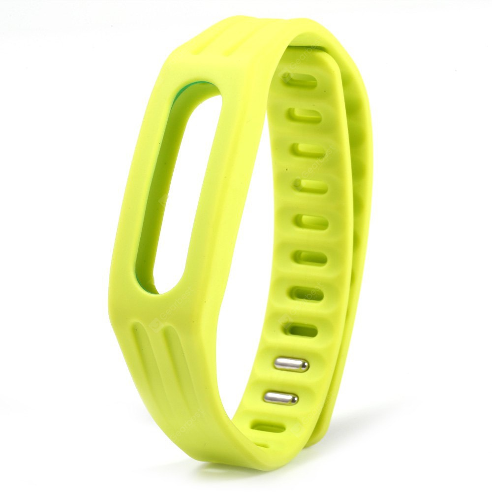 Bright Color Silicone Watch Strap Xiaomi Miband 1 GREEN
