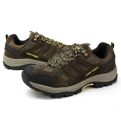 Mountaineering Shoes Breathable Upper Sneakers For MenShoes<br>Mountaineering Shoes Breathable Upper Sneakers For Men<br><br>Type: Hiking Shoes<br>Features: Breathable,Crashworthy,Durable,Water Resistant<br>Size: 42,43,44<br>Gender: Men<br>Season: Autumn,Spring,Summer,Winter<br>Closure Type: Lace-Up<br>Sole Material: EVA<br>Color: Army green,Khaki<br>Package weight: 1.250 kg<br>Package size: 35.00 x 28.00 x 15.00 cm / 13.78 x 11.02 x 5.91 inches<br>Package Contents: 1 x Pair of Mountaineering Shoes