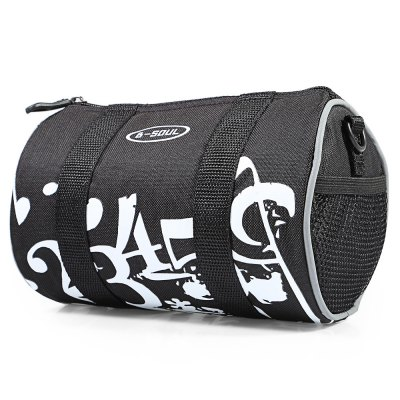 B - SOUL YA168 Bicycle Handlebar BagBike Bags<br>B - SOUL YA168 Bicycle Handlebar Bag<br><br>Brand: B-SOUL<br>Model Number: YA168<br>Suitable for: Cross-Country Cycling,Mountain Bicycle,Road Bike,Touring Bicycle<br>Color: Blue,Green,Red,White<br>Emplacement: Handlebar<br>Product weight: 0.120 kg<br>Package weight: 0.193 kg<br>Product Dimension: 21.00 x 13.00 x 13.50 cm / 8.27 x 5.12 x 5.31 inches<br>Package Dimension: 22.00 x 10.00 x 14.50 cm / 8.66 x 3.94 x 5.71 inches<br>Package Contents: 1 x B-SOUL YA168 Bicycle Saddle Bag