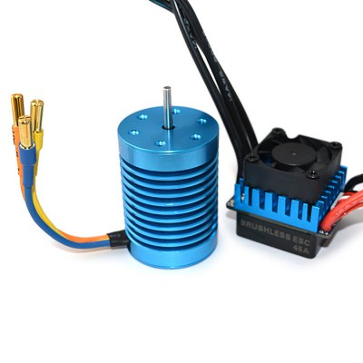 Surpass F540 3650 4370KV Water-proof Motor + 45A ESCESC<br>Surpass F540 3650 4370KV Water-proof Motor + 45A ESC<br><br>Brand: Surpass<br>Brand: SURPASS<br>Type: ESC,Motor<br>Motor Type: Brushless Motor<br>Product weight: 0.210 kg<br>Package weight: 0.319 kg<br>Package size (L x W x H): 13.00 x 9.00 x 7.00 cm / 5.12 x 3.54 x 2.76 inches<br>Package Contents: 1 x 4370KV Motor, 1 x 45A Brushless ESC
