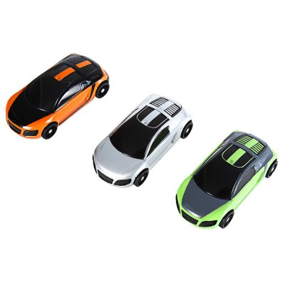 3D Smart Interactive Pocket Racing Car RC Intelligent Toy - 1pc