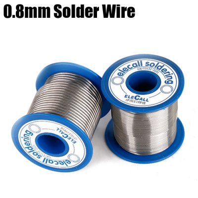 ELECALL Electric 0.8mm Tin Solder Wire