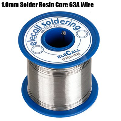 ELECALL Tin Lead Melt Rosin Core Solder 63A 1.0mm Wire