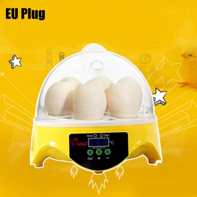 HHD Automatic 7 Eggs Incubator Poultry Hatcher