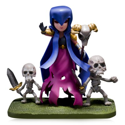 COC Witch Figure Model Collection Table Decor