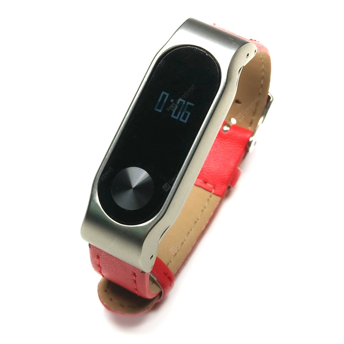 Leather Watch Strap for Xiaomi Miband 2