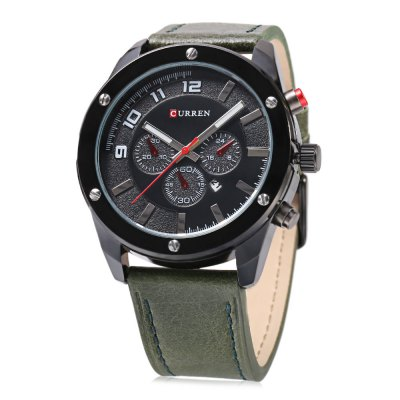 CURREN 8204 Men Quartz Watch