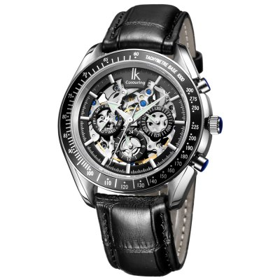 IK COLOURING Business Style Automatic Mechanical Men Watch