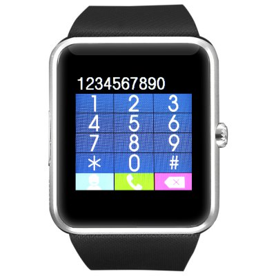 CYUC GT08 Smartwatch PhoneSmart Watch Phone<br>CYUC GT08 Smartwatch Phone<br><br>Type: Watch Phone<br>CPU: MTK6261<br>External Memory: TF card up to 32GB (not included)<br>Wireless Connectivity: Bluetooth<br>Network type: GSM<br>Frequency: GSM850/900/1800/1900MHz<br>Bluetooth: Yes<br>Bluetooth version: V3.0<br>Screen size: 1.54 inch<br>Camera type: Single camera<br>Front camera: 0.057MP<br>SIM Card Slot: Single SIM(Micro SIM slot)<br>TF card slot: Yes<br>Speaker: Supported<br>Languages: English, French, Spanish, Polish, Porturgese, Italian, German, Dutch, Turkish, Russian<br>Additional Features: 2G,Bluetooth,Calendar,Notification<br>Functions: Anti-lost alert,Pedometer,Sedentary reminder,Sleep monitoring<br>Cell Phone: 1<br>Battery: 1 x 350 mAh<br>USB Cable: 1<br>English Manual : 1<br>Product size: 4.90 x 4.30 x 1.10 cm / 1.93 x 1.69 x 0.43 inches<br>Package size: 11.00 x 11.00 x 9.00 cm / 4.33 x 4.33 x 3.54 inches<br>Product weight: 0.054 kg<br>Package weight: 0.215 kg