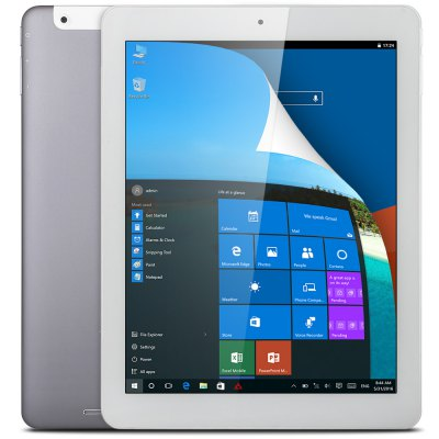 Teclast X98 Plus II 2 in 1 Tablet PCTablet PCs<br>Teclast X98 Plus II 2 in 1 Tablet PC<br><br>Brand: Teclast<br>Type: Tablet PC<br>OS: Android 5.1,Windows 10<br>CPU Brand: Intel<br>CPU: Cherry Trail Z8300<br>GPU: Intel HD Graphic(Gen8)<br>Core: 1.44GHz,Quad Core<br>RAM: 4GB<br>ROM: 64GB<br>External Memory: TF card up to 128GB (not included)<br>Support Network: WiFi<br>WIFI: 802.11b/g/n wireless internet<br>Bluetooth: Yes<br>Screen type: Capacitive (10-Point),IPS,Retina<br>Screen size: 9.7 inch<br>Screen resolution: 2048 x 1536 (QXGA)<br>Camera type: Dual cameras (one front one back)<br>Back camera: 2.0MP<br>Front camera: 2.0MP<br>TF card slot: Yes<br>Micro USB Slot: Yes<br>Micro HDMI: Yes<br>3.5mm Headphone Jack: Yes<br>Battery Capacity(mAh): 3.8V/8000mAh<br>AC adapter: 100-240V 5V 2.5A<br>Material of back cover: Aluminum Alloy<br>G-sensor: Supported<br>Skype: Supported<br>Youtube: Supported<br>Speaker: Supported<br>MIC: Supported<br>Google Play Store: Yes<br>Office 365: Pre-installed<br>Picture format: BMP,GIF,JPEG,JPG,PNG<br>Music format: AAC,APE,MP3,OGG,WMA<br>Video format: 3GP,AVI,M4V,MP4,WMV<br>MS Office format: Excel,PPT,Word<br>E-book format: PDF,PowerPoint,TXT,Word<br>Pre-installed Language: Windows OS is built-in Chinese and English, and other languages need to be downloaded by WiFi. Android OS supports multi-language<br>Additional Features: Bluetooth,Browser,Calculator,E-book,Gravity Sensing System,HDMI,MP3,MP4,Wi-Fi<br>Product size: 23.98 x 17.60 x 0.80 cm / 9.44 x 6.93 x 0.31 inches<br>Package size: 32.20 x 22.40 x 5.60 cm / 12.68 x 8.82 x 2.2 inches<br>Product weight: 0.568 kg<br>Package weight: 1.100 kg<br>Tablet PC: 1<br>OTG Cable: 1<br>USB Cable: 1<br>Power Cable: 1<br>English Manual : 1