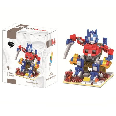 LOZ Figure Style ABS Cartoon Building Block