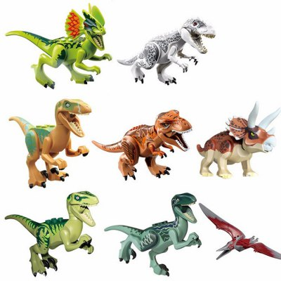 Dinosaur Shape Building Block Educational Decoration Toy