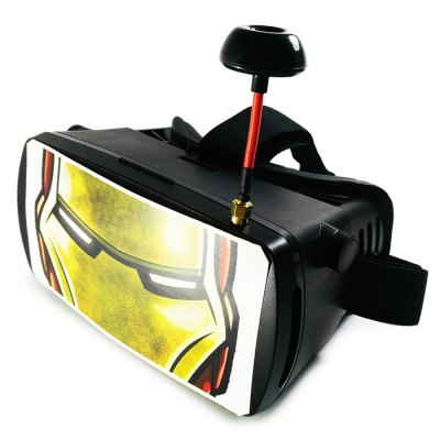 Hero Pattern 5 inch 5.8GHz 32CH FPV Video Goggles
