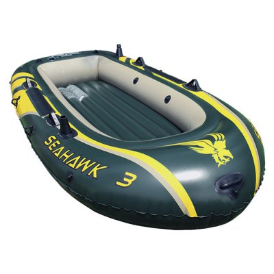 Inflatable Boat / Kayaking / Fishing Dinghy for 3 Persons Use