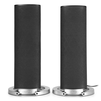 EDIFIER R26T Double-horn Multimedia Wired SpeakerSpeakers<br>EDIFIER R26T Double-horn Multimedia Wired Speaker<br><br>Audio Source: Electronic Products with 3.5mm Plug<br>Color: Black,Gray<br>Compatible with: Computer, Tablet PC, PC, MP5, MP4, MP3, Mobile phone, Laptop, iPod<br>Connection: Wired<br>Design: Portable<br>Interface: 3.5mm Audio<br>Material: ABS, Electronic Components<br>Package Contents: 2 x EDIFIER R26T Wired Speaker, 1 x Power Adapter, 1 x Audio Cable,  1 x Chinese Manual<br>Package size (L x W x H): 15.00 x 18.00 x 33.00 cm / 5.91 x 7.09 x 12.99 inches<br>Package weight: 1.302 kg<br>Powlev: CLASS II<br>Product size (L x W x H): 12.00 x 12.00 x 26.00 cm / 4.72 x 4.72 x 10.24 inches<br>Product weight: 0.994 kg<br>S/N: 85dB<br>Support O.S: Windows XP, Windows Vista, Windows ME, Windows 98SE, Windows 98, Windows 7, Windows 2000, Mac OS, Linux<br>Supports: Volume Control<br>Working Voltage: 220V