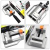 CC23 Aluminum Alloy Flat Tongs Vice Bench Drill for DIY Project deal