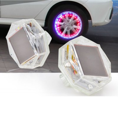 4PCS Car Tire Wheel Light