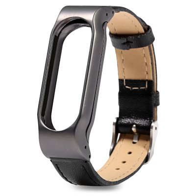 D.MRX Metal Case Steel Watch Strap for Xiaomi Miband 2Smart Watch Accessories<br>D.MRX Metal Case Steel Watch Strap for Xiaomi Miband 2<br><br>Band Length: 9.96 inch<br>Band Material Type: Leather<br>Band Width: 18mm<br>Clasp type: Pin Buckle<br>Product weight: 0.037 kg<br>Package weight: 0.104 kg<br>Product Size(L x W x H): 25.30 x 1.80 x 1.30 cm / 9.96 x 0.71 x 0.51 inches<br>Package Size(L x W x H): 26.30 x 2.80 x 2.30 cm / 10.35 x 1.1 x 0.91 inches<br>Package Contents: 1 x D.MRX Watch Strap for Xiaomi Miband 2
