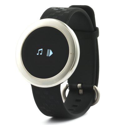 Kimlink ET01 Smartwatch Watch with CameraSmart Watches<br>Kimlink ET01 Smartwatch Watch with Camera<br><br>Alert type: Vibration<br>Anti-lost: Yes<br>Available Color: Black,Black and Silver,Gold,Silver<br>Band material: TPU<br>Band size: 19.2 x 1.6 cm / 7.56 x 0.63 inches<br>Battery  Capacity: 100mAh<br>Bluetooth calling: Phone call reminder<br>Bluetooth Version: Bluetooth 4.0<br>Case material: Stainless Steel<br>Compatability: Android 4.3 / iOS 7.0 and above system<br>Compatible OS: Android, IOS<br>Dial size: 3.8 x 3.8 x 1.05 cm / 1.5 x 1.5 x 0.41 inches<br>Groups of alarm: 3<br>Health tracker: Heart rate monitor,Pedometer,Sedentary reminder,Sleep monitor<br>IP rating: IP67<br>Language: Arabic,Bengali,Bulgarian,Catalan,Croatian,Czech,Danish,Dutch,English,Estonian,Finnish,French,German,Greek,Hebrew,Hindi,Hungarian,Indonesian,Italian,Japanese,Korean,Malaysian,Norwegian,Polish,Portugues<br>Messaging: Message reminder<br>Operating mode: Touch Screen<br>Other Function: Alarm<br>Package Contents: 1 x Kimlink ET01 Smart Watch, 1 x Chinese and English User Manual, 1 x Charging Cable<br>Package size (L x W x H): 10.50 x 9.00 x 5.50 cm / 4.13 x 3.54 x 2.17 inches<br>Package weight: 0.176 kg<br>People: Female table,Male table<br>Product size (L x W x H): 23.00 x 3.80 x 1.05 cm / 9.06 x 1.5 x 0.41 inches<br>Product weight: 0.025 kg<br>Remote control function: Remote music, Remote Camera<br>Screen: OLED<br>Screen resolution: 64 x 48<br>Screen size: 0.66 inch<br>Shape of the dial: Round<br>Standby time: About 15 Days<br>Type of battery: Li-ion Battery<br>Waterproof: Yes