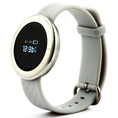 Kimlink ET01 SmartwatchSmart Watches<br>Kimlink ET01 Smartwatch<br><br>Alert type: Vibration<br>Anti-lost: Yes<br>Available Color: Black,Black and Silver,Gold,Silver<br>Band material: TPU<br>Band size: 19.2 x 1.6 cm / 7.56 x 0.63 inches<br>Battery  Capacity: 100mAh<br>Bluetooth calling: Phone call reminder<br>Bluetooth Version: Bluetooth 4.0<br>Case material: Stainless Steel<br>Compatability: Android 4.3 / iOS 7.0 and above system<br>Compatible OS: Android, IOS<br>Dial size: 3.8 x 3.8 x 1.05 cm / 1.5 x 1.5 x 0.41 inches<br>Groups of alarm: 3<br>Health tracker: Heart rate monitor,Pedometer,Sedentary reminder,Sleep monitor<br>IP rating: IP67<br>Language: Arabic,Bengali,Bulgarian,Catalan,Croatian,Czech,Danish,Dutch,English,Estonian,Finnish,French,German,Greek,Hebrew,Hindi,Hungarian,Indonesian,Italian,Japanese,Korean,Malaysian,Norwegian,Polish,Portugues<br>Messaging: Message reminder<br>Operating mode: Touch Screen<br>Other Function: Alarm<br>Package Contents: 1 x Kimlink ET01 Smart Watch, 1 x Chinese and English User Manual, 1 x Charging Cable<br>Package size (L x W x H): 10.50 x 9.00 x 5.50 cm / 4.13 x 3.54 x 2.17 inches<br>Package weight: 0.176 kg<br>People: Female table,Male table<br>Product size (L x W x H): 23.00 x 3.80 x 1.05 cm / 9.06 x 1.5 x 0.41 inches<br>Product weight: 0.025 kg<br>Remote control function: Remote music, Remote Camera<br>Screen: OLED<br>Screen resolution: 64 x 48<br>Screen size: 0.66 inch<br>Shape of the dial: Round<br>Standby time: About 15 Days<br>Type of battery: Li-ion Battery<br>Waterproof: Yes
