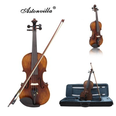 ASTONVILLA AV - 10 4 / 4 ViolinViolin<br>ASTONVILLA AV - 10 4 / 4 Violin<br><br>Jean Head Material: Other<br>Package Contents: 1 x Violin, 1 x Box, 1 x Rosin, 1 x Bow, 1 x Shoulder Rest, 1 x Tuner, 1 x Mute, 4 x String, 1 x English Manual, 1 x Cleaning Cloth<br>Package size: 77.50 x 25.00 x 12.00 cm / 30.51 x 9.84 x 4.72 inches<br>Package weight: 1.8000 kg<br>Panel Material: Spruce<br>Product size: 59.00 x 20.50 x 4.00 cm / 23.23 x 8.07 x 1.57 inches<br>Pull the String Material: Other<br>Refers to the Material: Spruce, Maple, Ebony<br>Size: 4/4<br>The Back and Sides Material: Maple