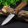 GANZO G7452 - WD1 Brown Folding Knife