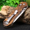 GANZO G7452 - WD1 Brown Folding Knife deal