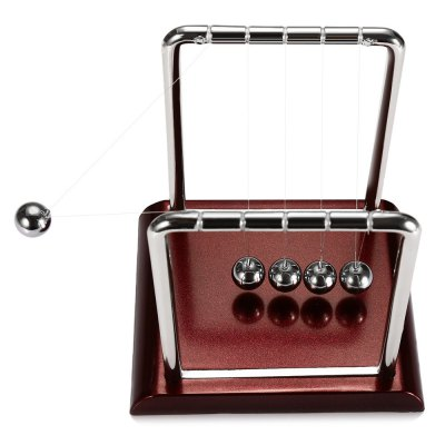 1.5cm Balance Ball Newton Cradle Physical Pendulum Educational Toy