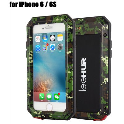 LeeHUR Water Resistance Full Body Protective Case for iPhone 6 / 6S