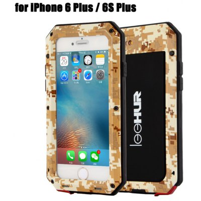 LeeHUR Water Resistance Full Body Protective Case for iPhone 6 Plus / 6S Plus