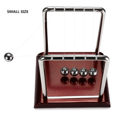 1cm Balance Ball Newton Cradle Physical Pendulum Educational ToyOffice Toys<br>1cm Balance Ball Newton Cradle Physical Pendulum Educational Toy<br><br>Features: Educational<br>Materials: Metal, Plastic<br>Package Contents: 1 x Newton Cradle Balance Ball<br>Package size: 10.00 x 10.00 x 10.00 cm / 3.94 x 3.94 x 3.94 inches<br>Package weight: 0.1000 kg<br>Product size: 9.00 x 7.50 x 9.50 cm / 3.54 x 2.95 x 3.74 inches<br>Series: Entertainment<br>Theme: Science