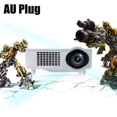 T928 LCD Projector HDMI VGAProjectors<br>T928 LCD Projector HDMI VGA<br><br>3D: No<br>Aspect ratio: 16:9 / 4:3<br>Bluetooth: Unsupport<br>Brightness: 3000 Lumens<br>Built-in Speaker: Yes<br>Color: White<br>Contrast Ratio: 2000:1<br>Display type: LCD<br>DVB-T Supported: No<br>External Subtitle Supported: No<br>Function: Speaker<br>Image Scale: 16:9,4:3<br>Image Size: 25-200 inch<br>Interface: USB, SD Card Slot, HDMI, VGA<br>Lamp: LED<br>Material: Plastic, Glass<br>Model: T928<br>Native Resolution: 1280 x 768<br>Package Contents: 1 x T928 Home Theater LCD Projector 3000LM 1280 x 768 Pixels, 1 x Power Cord, 1 x Remote Controller, 1 x AV Cable, 1 x Lens-cleaning Paper, 1 x English Manual<br>Package size (L x W x H): 36.00 x 29.00 x 18.50 cm / 14.17 x 11.42 x 7.28 inches<br>Package weight: 3.3350 kg<br>Power Supply: 110-220V<br>Product size (L x W x H): 29.00 x 21.50 x 10.50 cm / 11.42 x 8.46 x 4.13 inches<br>Product weight: 2.3580 kg<br>Projection Distance: 2.0 - 6.0M<br>Resolution Support: 1080P<br>Throw Ration: 1:1.5