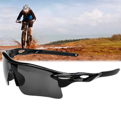 UV400 Sports Sun Glasses Explosionproof Eyes Protector for Outdoors Use