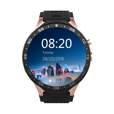 KingWear KW88 3G Smartwatch PhoneSmart Watch Phone<br>KingWear KW88 3G Smartwatch Phone<br><br>Brand: KingWear<br>Type: Watch Phone<br>OS: Android 5.1<br>CPU: MTK6580<br>Cores: Quad Core<br>RAM: 512MB<br>ROM: 4GB<br>External Memory: Not Supported<br>Compatible OS: Android<br>WIFI: 802.11b/g/n wireless internet<br>Network type: GSM+WCDMA<br>Frequency: GSM 850/900/1800/1900MHz WCDMA 850/2100MHz<br>Support 3G : Yes<br>GPS: Yes<br>Bluetooth: Yes<br>Bluetooth version: V4.0<br>Screen type: Capacitive<br>Camera type: Single camera<br>Front camera: 2.0MP (SW 5.0MP)<br>SIM Card Slot: Single SIM(Micro SIM slot)<br>Speaker: Supported<br>Picture format: GIF,JPEG,PNG<br>Music format: MP3<br>Video format: MP4<br>Languages: English, French, Russian, Vietnamese, Polish, Portuguese, Hebrew, Turkish, Arabic, Italian, Persian, Japanese, Korean, Thai, Bengli, Burmese, Indonesian, Hindi, German, Spanish<br>Additional Features: 2G,3G,Alarm,Bluetooth,GPS,Notification,Wi-Fi<br>Functions: Pedometer<br>Cell Phone: 1<br>Screen Protector: 1<br>Battery: 400mAh Built-in<br>USB Cable: 1<br>Screwdriver: 1<br>English Manual : 1<br>Product size: 5.50 x 4.70 x 1.40 cm / 2.17 x 1.85 x 0.55 inches<br>Package size: 11.60 x 11.60 x 9.00 cm / 4.57 x 4.57 x 3.54 inches<br>Product weight: 0.065 kg<br>Package weight: 0.300 kg
