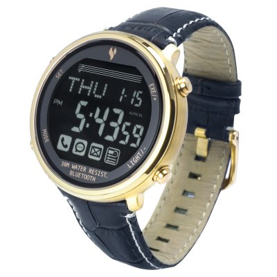 YOUNGS YT1600401L Bluetooth 4.0 SOS Signal Smart WatchSmart Watches<br>YOUNGS YT1600401L Bluetooth 4.0 SOS Signal Smart Watch<br><br>Alert type: Vibration<br>Available Color: Black,Brown,Gold,White<br>Band material: Genuine Leather<br>Band size: 21.7 x 2.1 cm / 8.54 x 0.83 inches<br>Battery  Capacity: 220mAh<br>Bluetooth calling: Phone call reminder<br>Bluetooth Version: Bluetooth 4.0<br>Case material: Stainless Steel<br>Compatability: Android 4.0 / iOS 6.0 and above systems<br>Compatible OS: IOS, Android<br>Dial size: 4.4 x 4.4 x 1.3 cm / 1.73 x 1.73 x 0.51 inches<br>Find phone: Yes<br>Groups of alarm: 5<br>Language: English,Simplified Chinese<br>Messaging: Message reminder<br>Notification: Yes<br>Notification type: Facebook<br>Operating mode: Press button<br>Other Function: Countdown, Alarm, Back-light, Stopwatch, Calender<br>Package Contents: 1 x Smart Watch, 1 x Chinese English User Manual<br>Package size (L x W x H): 11.10 x 11.10 x 7.60 cm / 4.37 x 4.37 x 2.99 inches<br>Package weight: 0.495 kg<br>People: Female table,Male table<br>Product size (L x W x H): 21.70 x 4.40 x 1.30 cm / 8.54 x 1.73 x 0.51 inches<br>Product weight: 0.074 kg<br>Remote control function: Remote Camera<br>Shape of the dial: Round<br>Standby time: 1 Year<br>Type of battery: CR2032 Button Battery<br>Waterproof: Yes