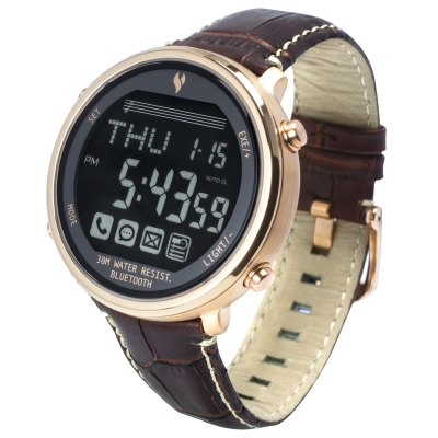 YOUNGS YT1600401L Bluetooth 4.0 SOS Signal Smart WatchSmart Watches<br>YOUNGS YT1600401L Bluetooth 4.0 SOS Signal Smart Watch<br><br>Alert type: Vibration<br>Available Color: Black,Brown,Gold,White<br>Band material: Genuine Leather<br>Band size: 21.7 x 2.1 cm / 8.54 x 0.83 inches<br>Battery  Capacity: 220mAh<br>Bluetooth calling: Phone call reminder<br>Bluetooth Version: Bluetooth 4.0<br>Case material: Stainless Steel<br>Compatability: Android 4.0 / iOS 6.0 and above systems<br>Compatible OS: IOS, Android<br>Dial size: 4.4 x 4.4 x 1.3 cm / 1.73 x 1.73 x 0.51 inches<br>Find phone: Yes<br>Groups of alarm: 5<br>Language: English,Simplified Chinese<br>Messaging: Message reminder<br>Notification: Yes<br>Notification type: Facebook<br>Operating mode: Press button<br>Other Function: Countdown, Alarm, Back-light, Stopwatch, Calender<br>Package Contents: 1 x Smart Watch, 1 x Chinese English User Manual<br>Package size (L x W x H): 11.10 x 11.10 x 7.60 cm / 4.37 x 4.37 x 2.99 inches<br>Package weight: 0.529 kg<br>People: Female table,Male table<br>Product size (L x W x H): 21.70 x 4.40 x 1.30 cm / 8.54 x 1.73 x 0.51 inches<br>Product weight: 0.074 kg<br>Remote control function: Remote Camera<br>Shape of the dial: Round<br>Standby time: 1 Year<br>Type of battery: CR2032 Button Battery<br>Waterproof: Yes