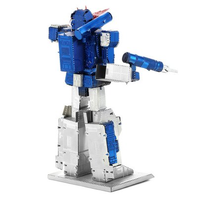 ZOYO Figure Module PuzzleModel &amp; Building Toys<br>ZOYO Figure Module Puzzle<br><br>Age: 14 Years+<br>Applicable gender: Unisex<br>Brand: ZOYO<br>Design Style: Cartoon<br>Features: DIY, Educational<br>Material: Metal<br>Package Contents: 4 x 3D Metallic Puzzle Board, 1 x User Manual<br>Package size (L x W x H): 20.00 x 12.00 x 2.00 cm / 7.87 x 4.72 x 0.79 inches<br>Package weight: 0.100 kg<br>Product size (L x W x H): 5.10 x 3.50 x 8.60 cm / 2.01 x 1.38 x 3.39 inches<br>Product weight: 0.080 kg<br>Puzzle Style: 3D Puzzle, Jigsaw Puzzle<br>Small Parts : Yes<br>Type: Puzzle Jigsaw<br>Washing: No