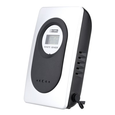 TS - H146 Wireless Digital Alarm ClockOther Consumer Electronics<br>TS - H146 Wireless Digital Alarm Clock<br><br>Model: TS - H146<br>Feature: °C/°F display selection<br>Type: Indoor Thermometer,Outdoor Thermometer<br>Product weight: 0.130 kg<br>Package weight: 0.294 kg<br>Product size (L x W x H): 13.50 x 8.00 x 4.00 cm / 5.31 x 3.15 x 1.57 inches<br>Package size (L x W x H): 14.50 x 9.50 x 8.00 cm / 5.71 x 3.74 x 3.15 inches<br>Package Contents: 1 x Remote Sensor, 1 x Receiver, 1 x English User Manual