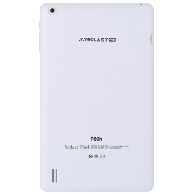 Teclast P80h Tablet PCFeatured Tablets<br>Teclast P80h Tablet PC<br><br>Brand: Teclast<br>Type: Tablet PC<br>OS: Android 5.1<br>CPU Brand: MTK<br>CPU: MTK8163<br>GPU: Sapphire 650<br>Core: 1.3GHz,Quad Core<br>RAM: 1GB<br>ROM: 8GB<br>External Memory: TF card up to 32GB (not included)<br>Support Network: WiFi<br>WIFI: 802.11 a/b/g/n/ac wireless internet<br>GPS: Yes<br>Bluetooth: Yes<br>Screen type: Capacitive (5-Point),IPS<br>Screen size: 8 inch<br>Screen resolution: 1280 x 800 (WXGA)<br>Camera type: Dual cameras (one front one back)<br>Back camera: 2.0MP<br>Front camera: 0.3MP<br>TF card slot: Yes<br>Micro USB Slot: Yes<br>Micro HDMI: Yes<br>3.5mm Headphone Jack: Yes<br>Battery Capacity(mAh): 3500mAh<br>Battery / Run Time (up to): 3 hours video playing time<br>AC adapter: 100-240V 5V 2A<br>G-sensor: Supported<br>Skype: Supported<br>Youtube: Supported<br>Speaker: Supported<br>MIC: Supported<br>Picture format: BMP,GIF,JPEG,PNG<br>Music format: AAC,MP3,WMA<br>Video format: 3GP,AVI,MP4<br>MS Office format: Excel,PPT,Word<br>E-book format: PDF,TXT<br>3D Games: Supported<br>Languages: Dutch,English,French,German,Italian,Portuguese,Russian,Spanish<br>Note: If you need any specific language other than English and you must leave us a message when you checkout<br>Additional Features: Bluetooth,Browser,Calculator,Calendar,E-book,GPS,Gravity Sensing System,HDMI,MP3,MP4,OTG,Sound Recorder,Wi-Fi<br>Product size: 21.00 x 12.60 x 0.99 cm / 8.27 x 4.96 x 0.39 inches<br>Package size: 24.00 x 20.00 x 4.00 cm / 9.45 x 7.87 x 1.57 inches<br>Product weight: 0.290 kg<br>Package weight: 0.588 kg<br>Tablet PC: 1<br>USB Cable: 1<br>English Manual : 1