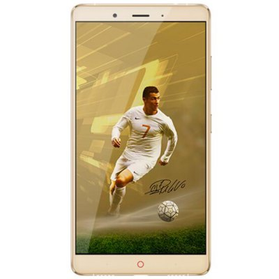 ZTE Nubia Z11 MAX 4G Phablet Cristiano Ronaldo Collector EditionCell phones<br>ZTE Nubia Z11 MAX 4G Phablet Cristiano Ronaldo Collector Edition<br><br>Brand: ZTE<br>Type: 4G Phablet<br>OS: Android 5.1<br>Service Provide: Unlocked<br>Language: Chinese, English<br>SIM Card Slot: Dual SIM,Dual Standby<br>SIM Card Type: Dual Nano SIM<br>CPU: Qualcomm Snapdragon 652 64bit<br>Cores: 1.4GHz,1.8GHz,Octa Core<br>GPU: Adreno 510<br>RAM: 4GB RAM<br>ROM: 64GB<br>External Memory: TF card up to 200GB (not included)<br>Wireless Connectivity: 2.4GHz/5GHz WiFi,3G,4G,Bluetooth,GPS,GSM<br>WIFI: 802.11a/b/g/n/ac wireless internet<br>Network type: FDD-LTE+WCDMA+GSM<br>2G: GSM 850/900/1800/1900MHz<br>3G: WCDMA 850/900/1900/2100MHz<br>4G: FDD-LTE 1800/2100/2600MHz<br>Screen type: Corning Gorilla Glass 3<br>Screen size: 6.0 inch<br>Screen resolution: 1920 x 1080 (FHD)<br>Camera type: Dual cameras (one front one back)<br>Back-camera: 16.0MP<br>Front camera: 8.0MP<br>Video recording: 4K Video,Yes<br>Aperture: f/2.0<br>Flashlight: Yes<br>Picture format: BMP,GIF,JPEG,PNG<br>Music format: AAC,AMR,M4A,Mid,MKA,OGG<br>Video format: 3GP,AVI,FLV,MKV,MP4<br>Games: Android APK<br>I/O Interface: 2 x Nano SIM Slot,3.5mm Audio Out Port,TF/Micro SD Card Slot,Type-C<br>Bluetooth Version: V4.1<br>Sensor: Accelerometer,Ambient Light Sensor,Gravity Sensor,Gyroscope,Hall Sensor,Proximity Sensor<br>Additional Features: 3G,4G,Alarm,Bluetooth,Browser,Calculator,Calendar,Fingerprint recognition,GPS,MP3,MP4,People,Wi-Fi<br>Battery Capacity (mAh): 4000mAh Built-in<br>Cell Phone: 1<br>Power Adapter: 1<br>USB Cable: 1<br>SIM Needle: 1<br>Product size: 15.92 x 8.23 x 0.74 cm / 6.27 x 3.24 x 0.29 inches<br>Package size: 19.00 x 11.70 x 5.20 cm / 7.48 x 4.61 x 2.05 inches<br>Product weight: 0.190 kg<br>Package weight: 0.483 kg