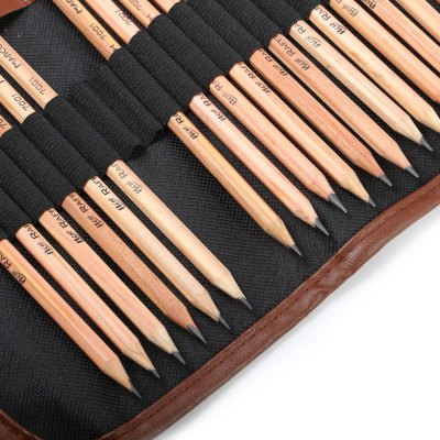 Marco 28 in 1 Sketch Drawing Pencil SetPainting Supplies<br>Marco 28 in 1 Sketch Drawing Pencil Set<br><br>Brand: Marco<br>Writing Instruments: Pencil<br>Material: Wood<br>Product weight: 0.270 kg<br>Package weight: 0.292 kg<br>Product size (L x W x H): 20.50 x 8.00 x 8.00 cm / 8.07 x 3.15 x 3.15 inches<br>Package size (L x W x H): 21.50 x 9.00 x 9.00 cm / 8.46 x 3.54 x 3.54 inches<br>Package Contents: 18 x Pencil, 3 x Charcoal Pencil, 1 x Knife, 1 x 4B Eraser, 1 x Plasticene, 1 x Pencil Extender, 3 x Paper Stump